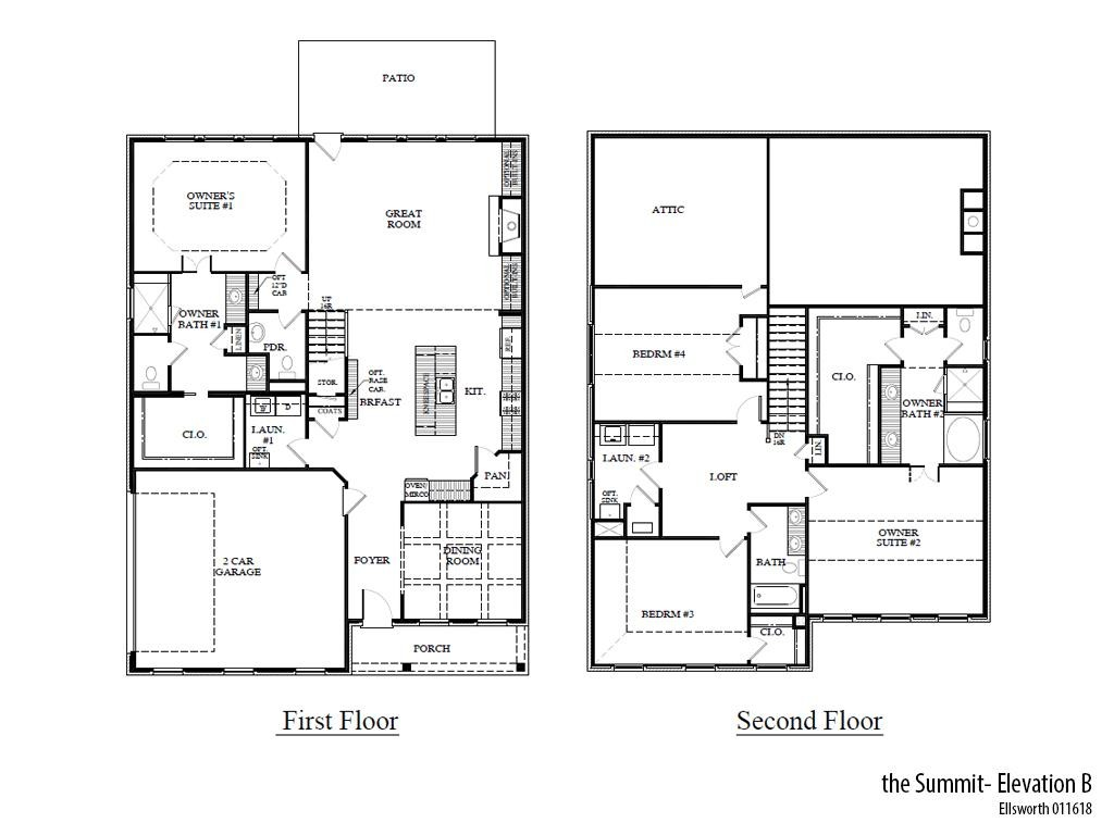 Ellsworth Summitb Floorplan