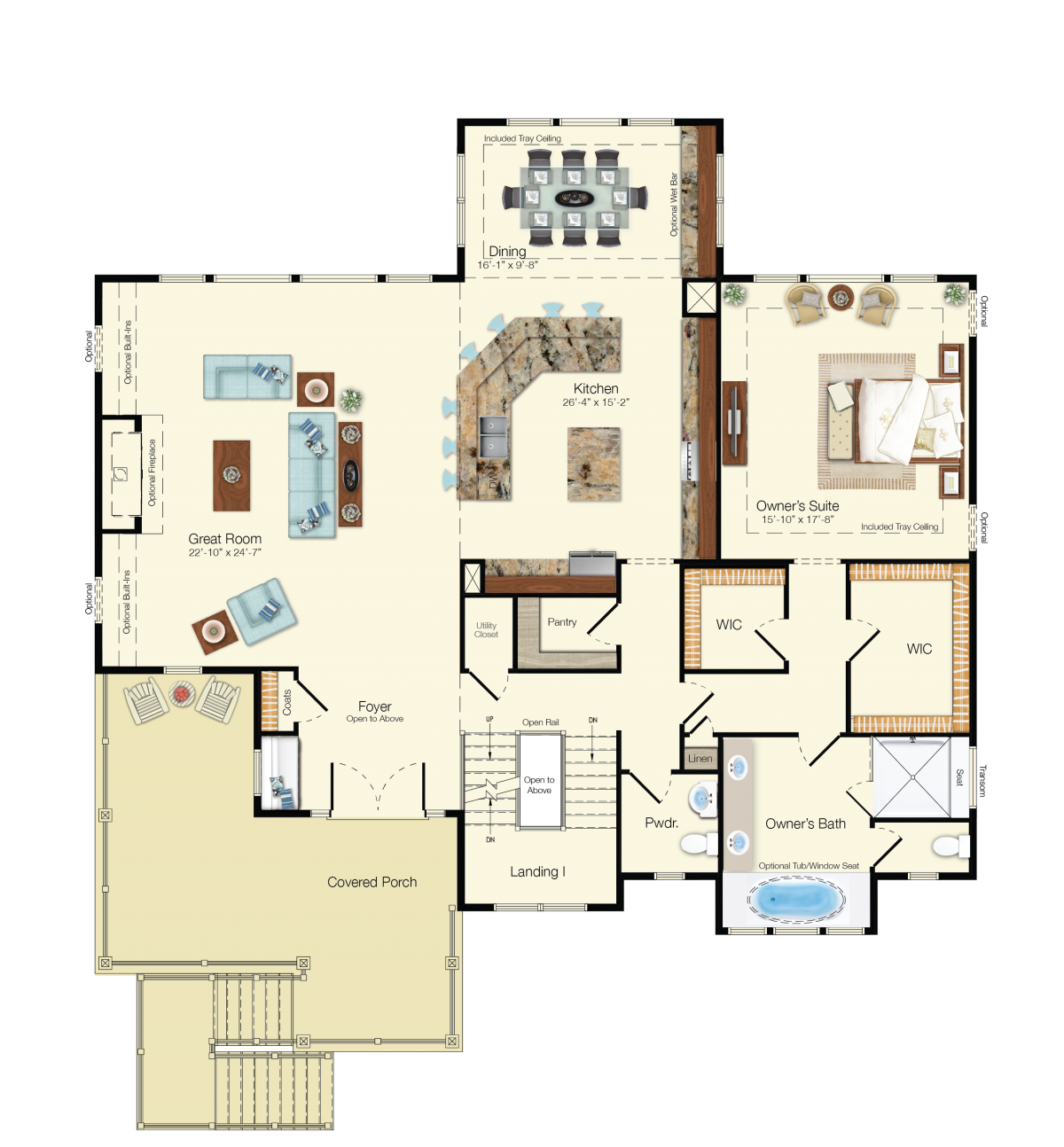The Grand Cayman - Second Floor