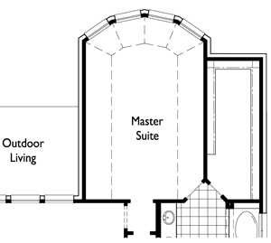 Optional Extended Master Bay