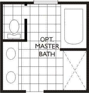 Churchill opt Master Bath