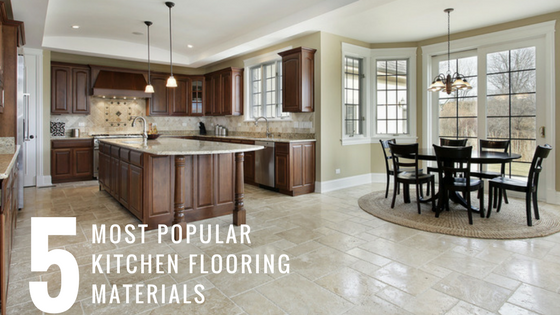 The lowdown on the 5 most popular kitchen flooring for Most popular flooring in new homes