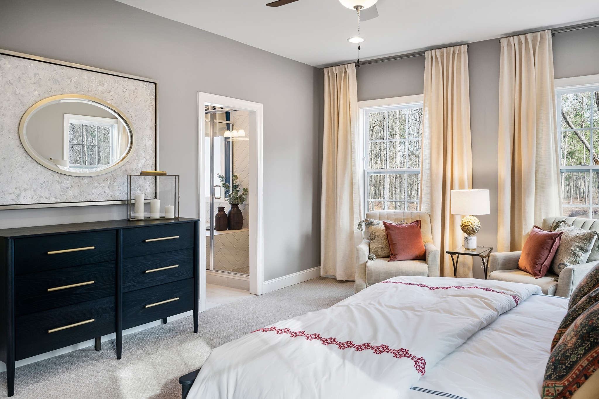 Ballentine Place, The Edenton Model, Royal Oaks a Division of Mattamy Homes, Master Suite