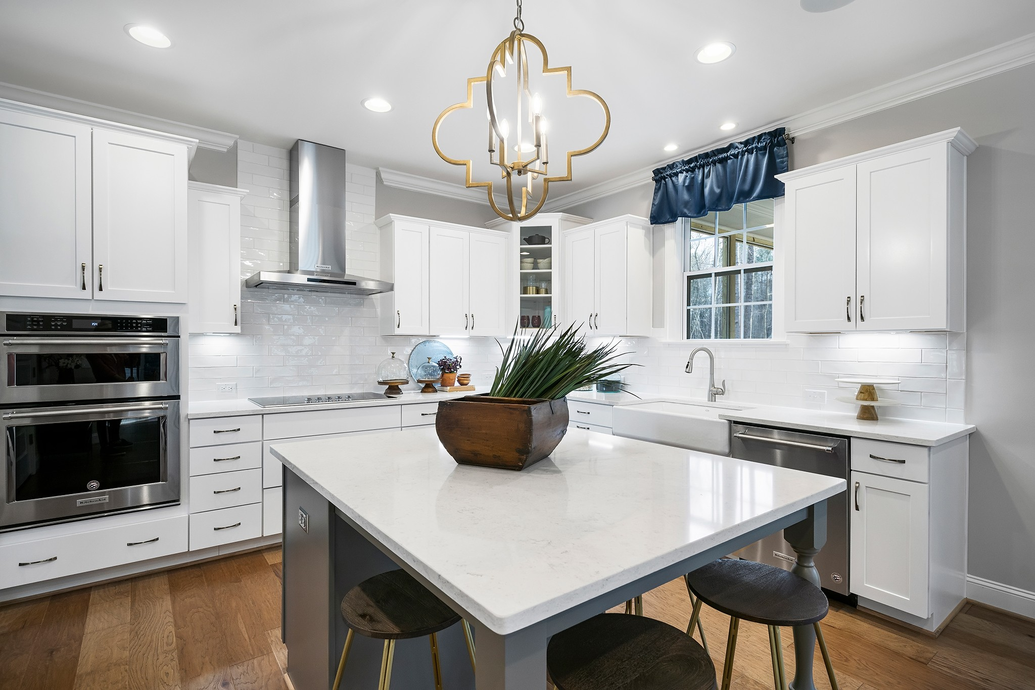 Ballentine Place, The Edenton Model, Royal Oaks a Division of Mattamy Homes, Gourmet Kitchen