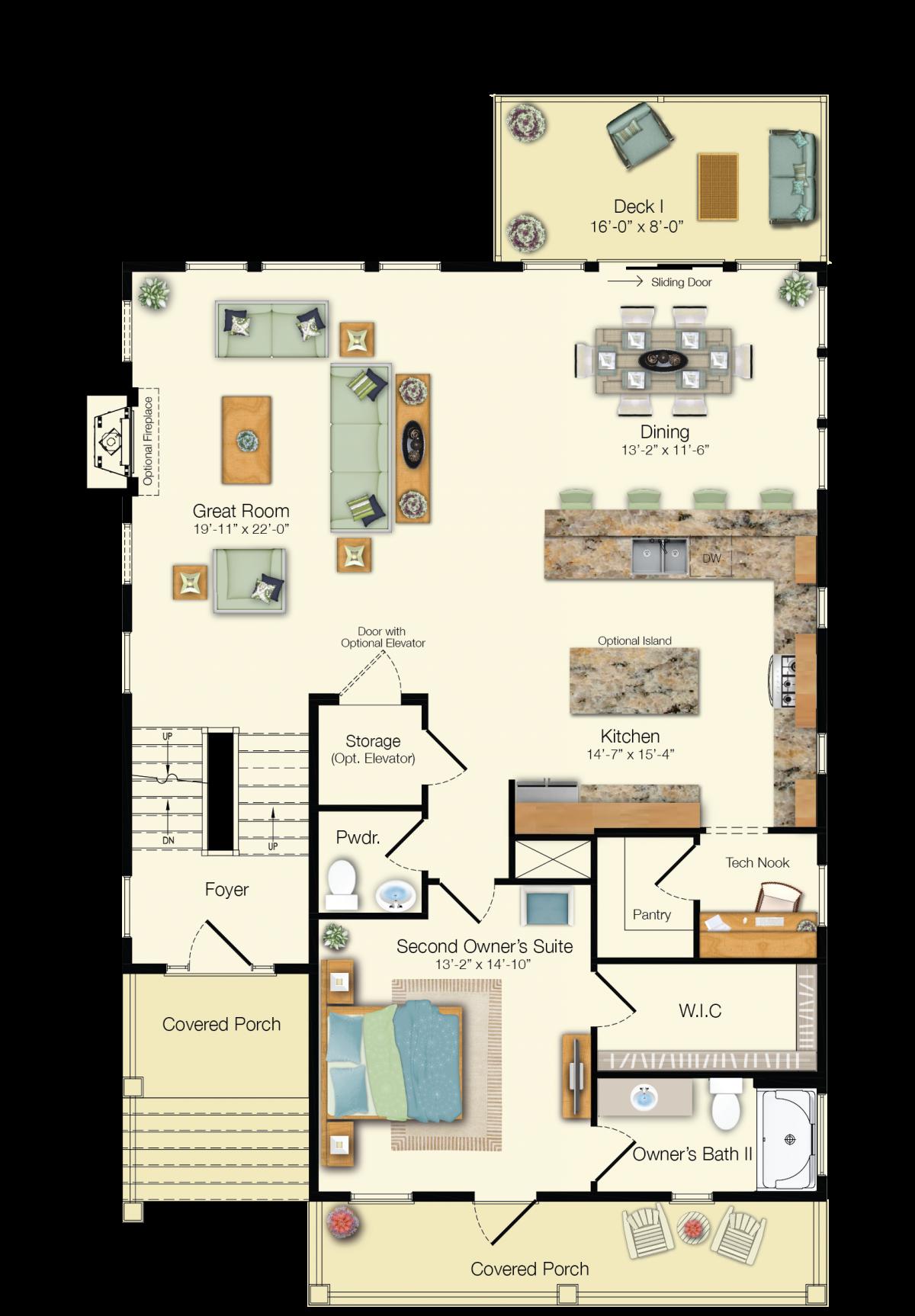 The Catalina - Second Floor