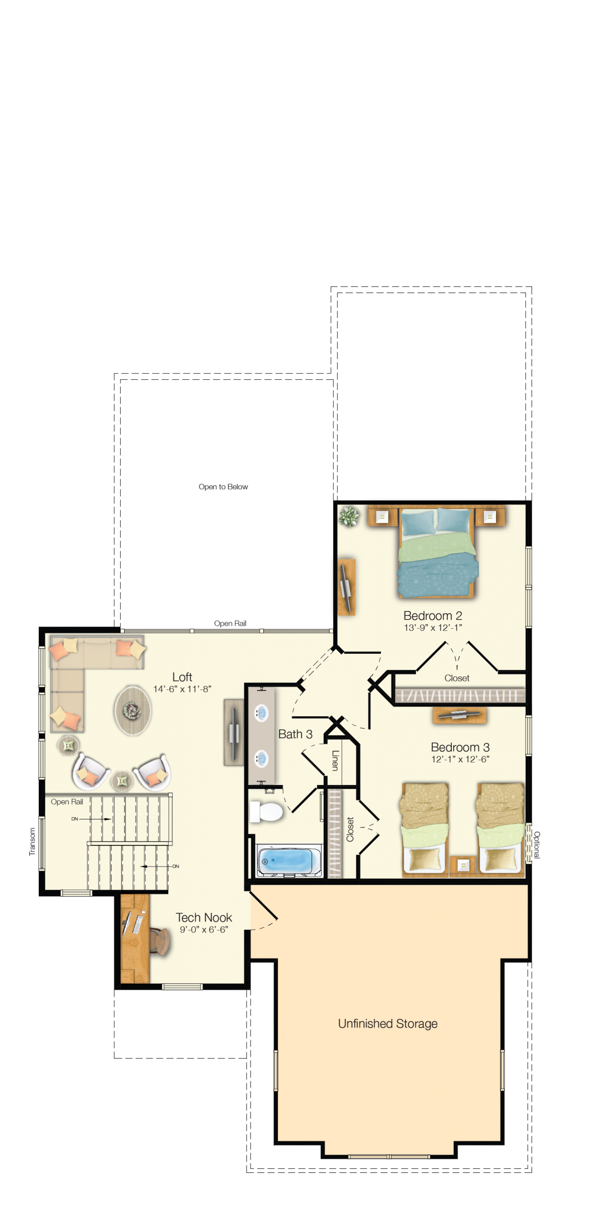 The Jasmine - Second Floor