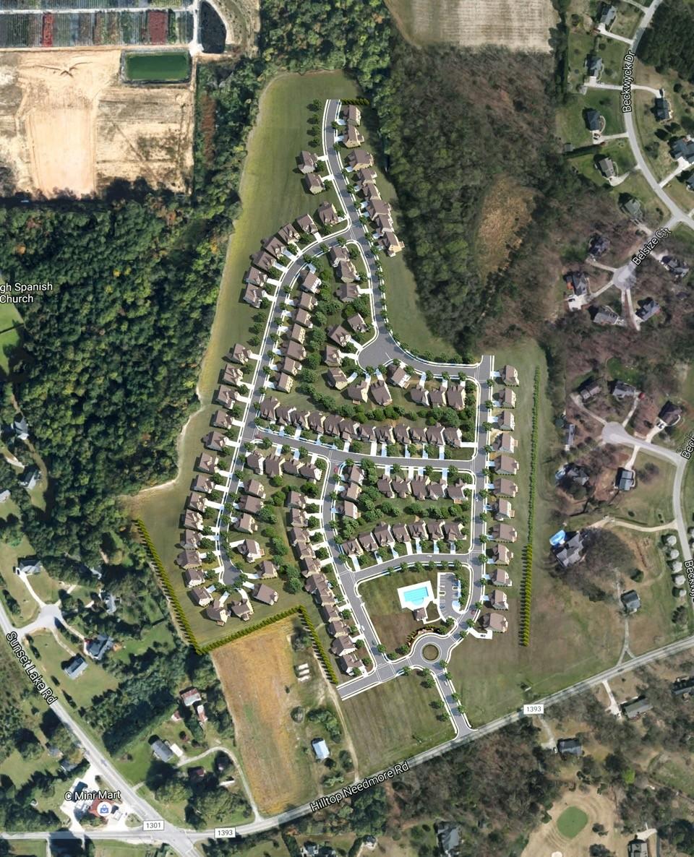 Sonoma Springs Sitemap Rendering on Google Earth