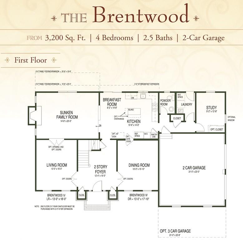 Brentwood 1st floor