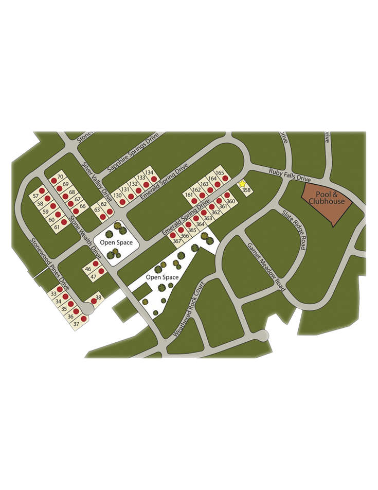 Rockbridge Lot Map