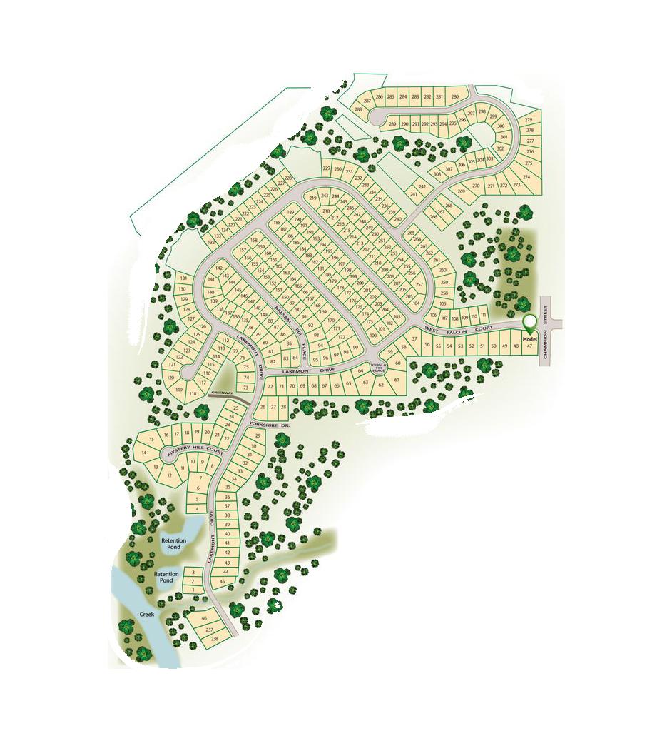 Bristol Lot Map