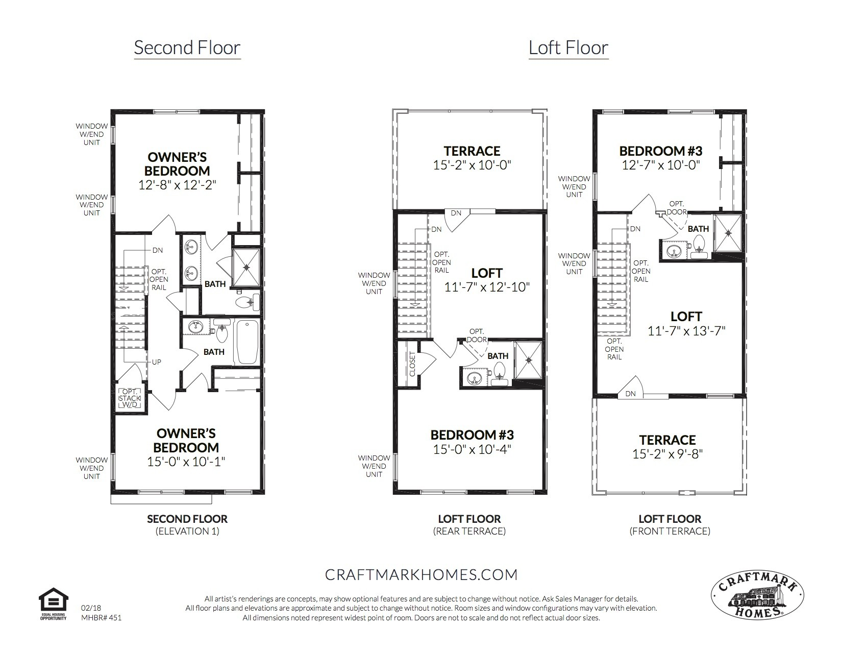 Second FloorLoft - The Westfield by Craftmark