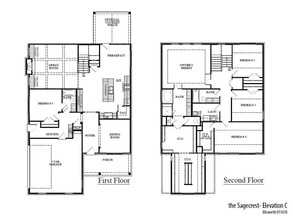 Ells Sagecrestc Floorplan