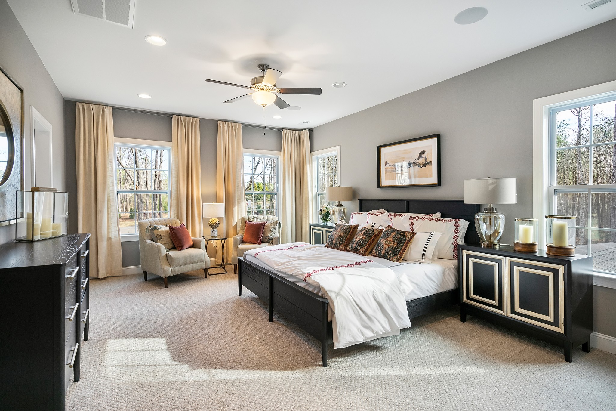 Ballentine Place, The Edenton Model, Royal Oaks a Division of Mattamy Homes, Spacious Master Suite