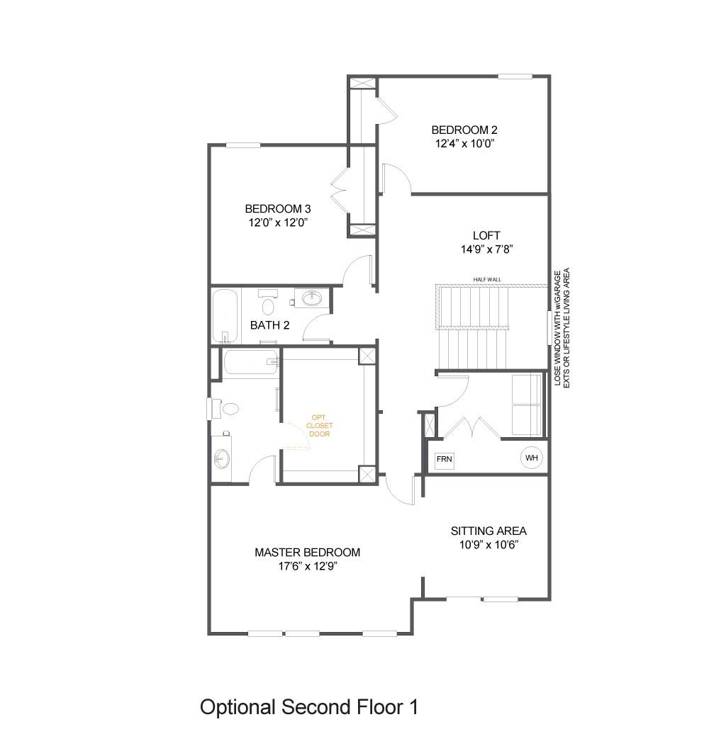 Optional Second Floor 1