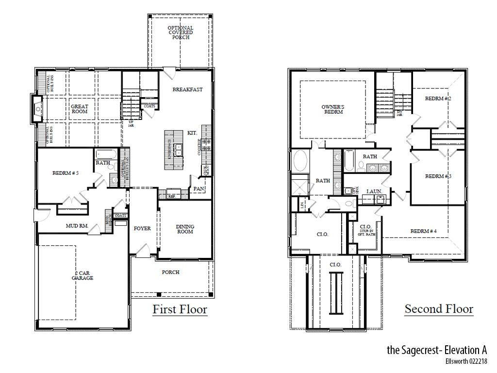 Ells Sagecresta Floorplan
