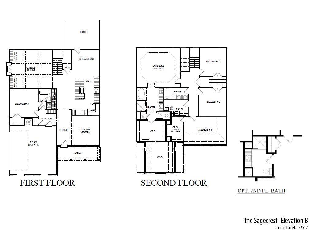 Cc Sagecrestb Floorplan