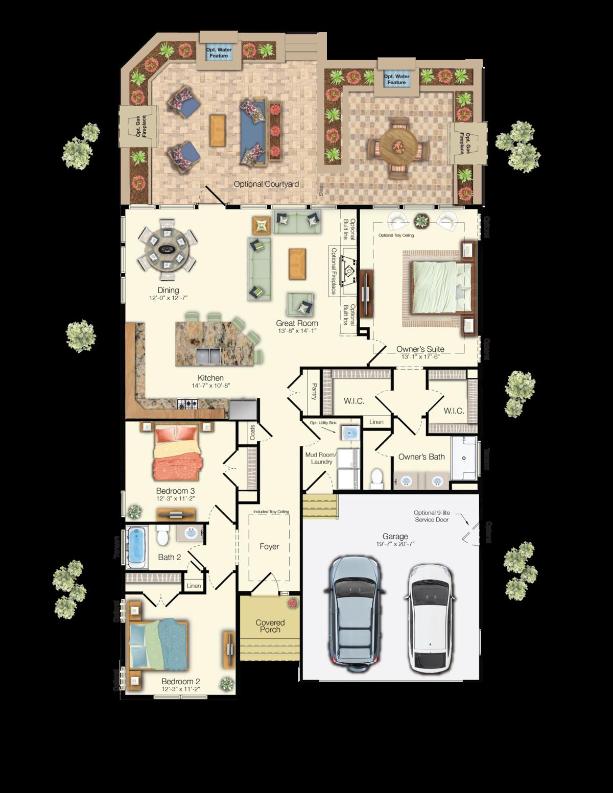 The Montauk - First Floor