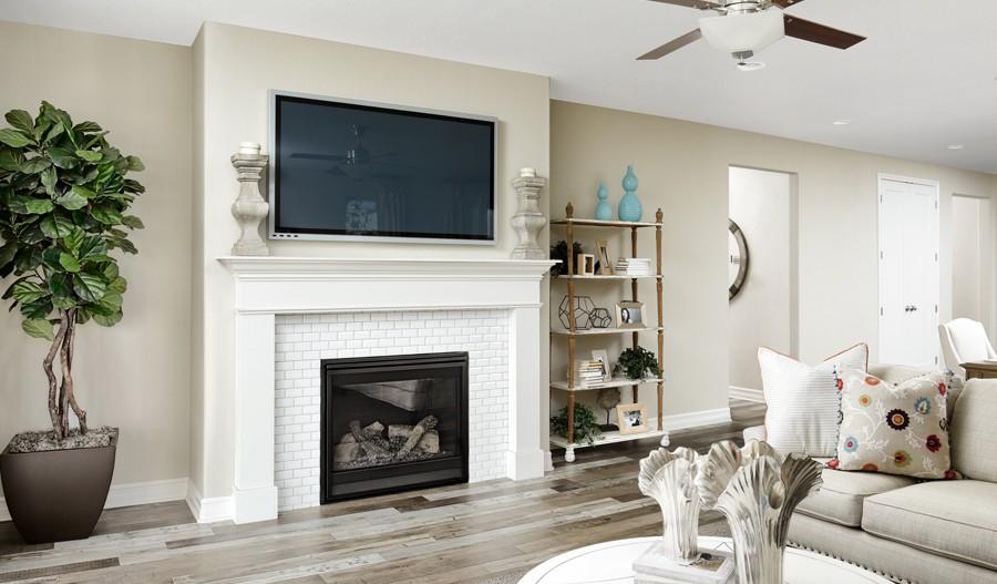 Fairfield-DEN-Arlington Familyroom and Fireplace