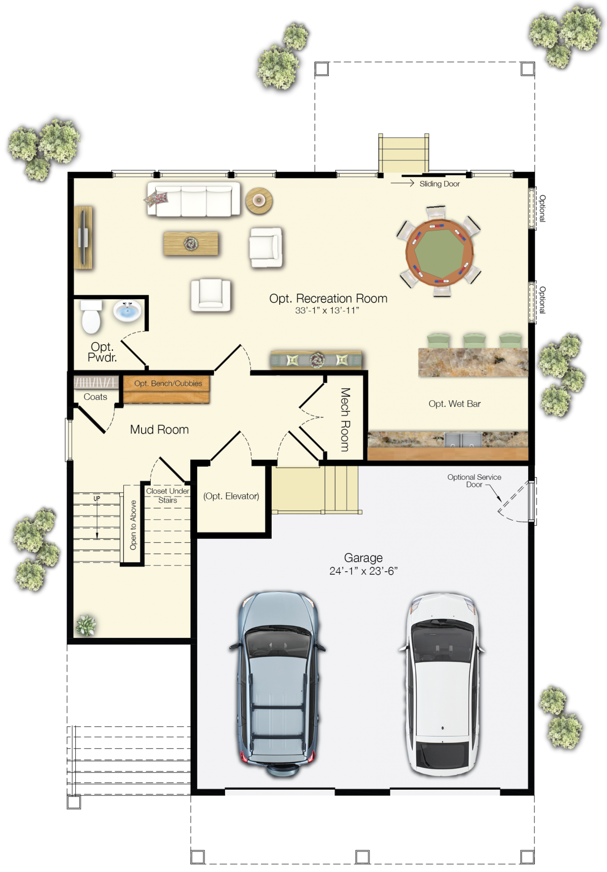 The Catalina - First Floor