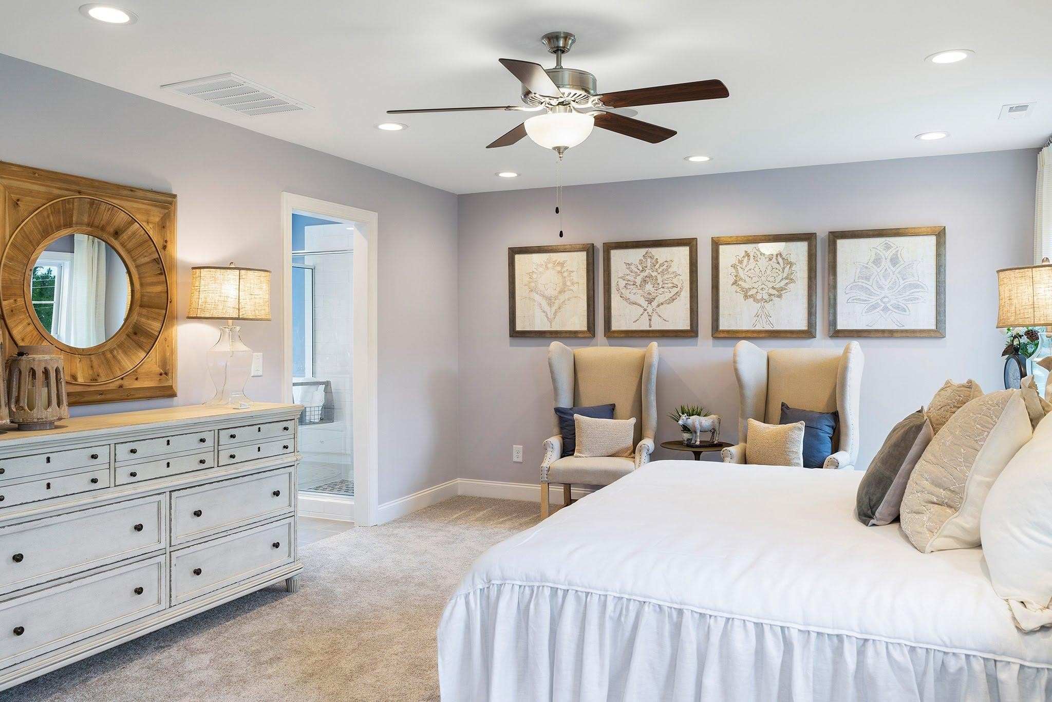 Royal Oaks a Division of Mattamy Homes, Oak Park, The Edenton, Master Suite