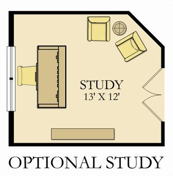 First Floor Option - Study