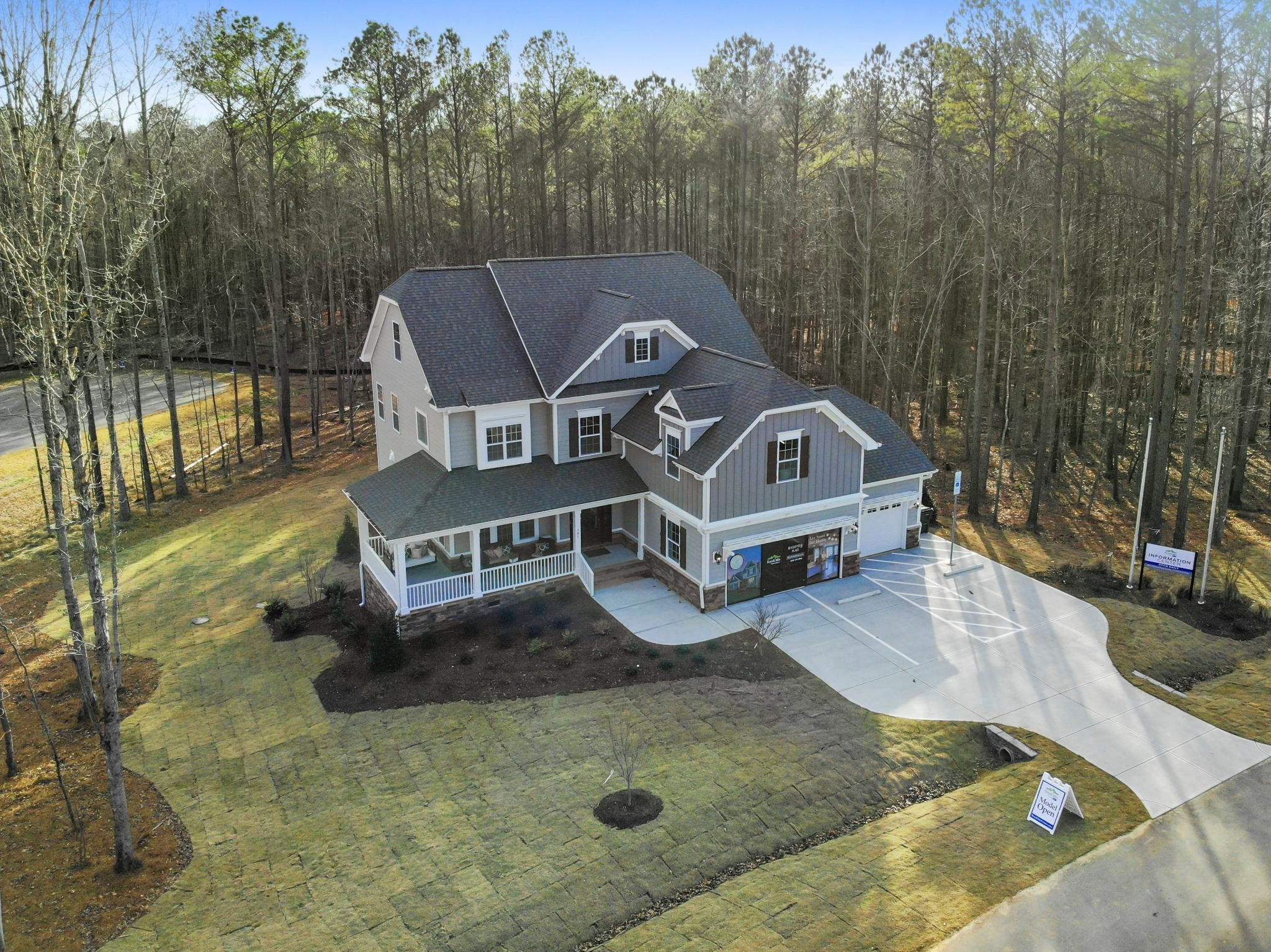 Ballentine Place, The Edenton Model, Royal Oaks a Division of Mattamy Homes, Spacious Wooded Home...
