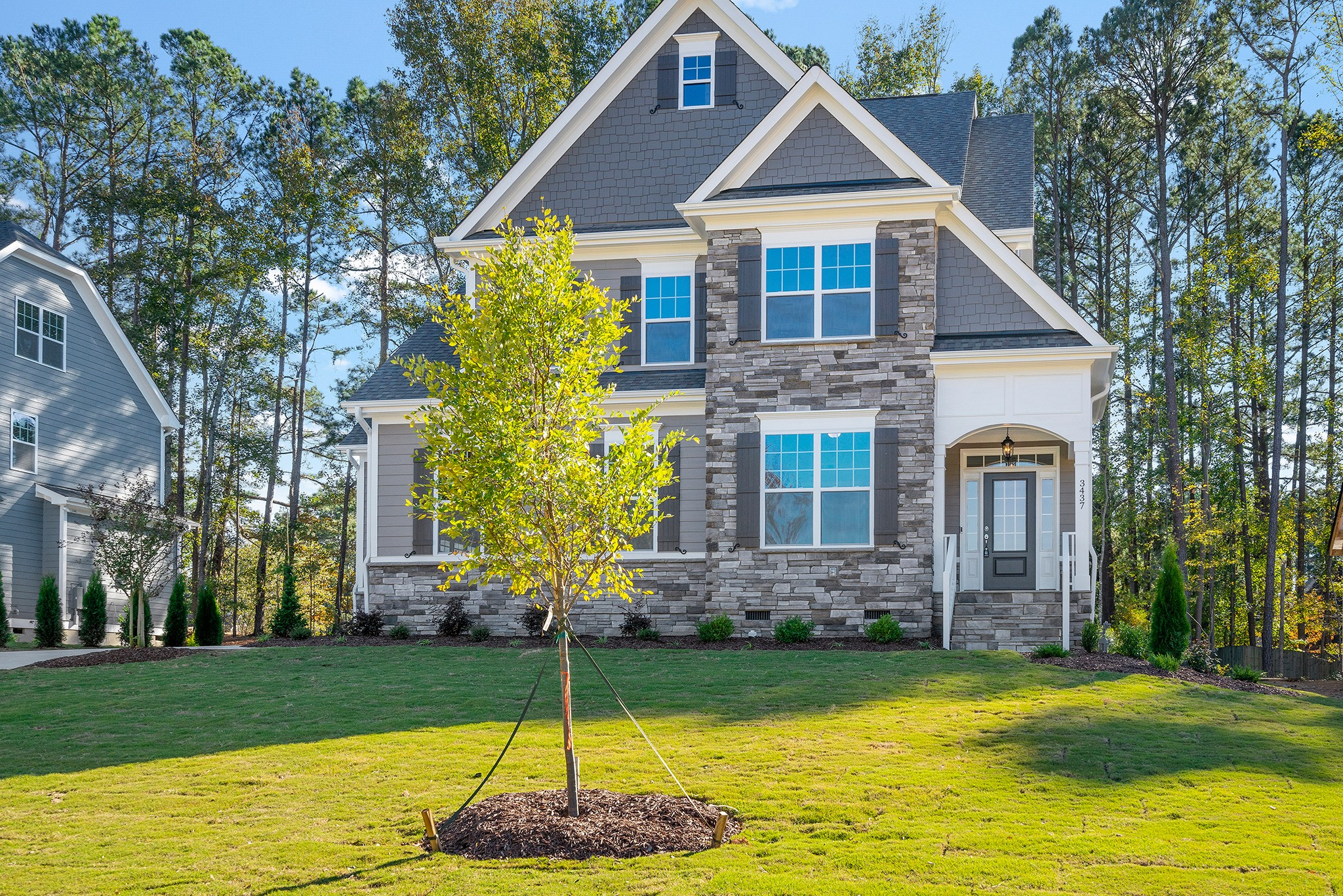 The Juniper Plan in Fairview Park, Cary NC