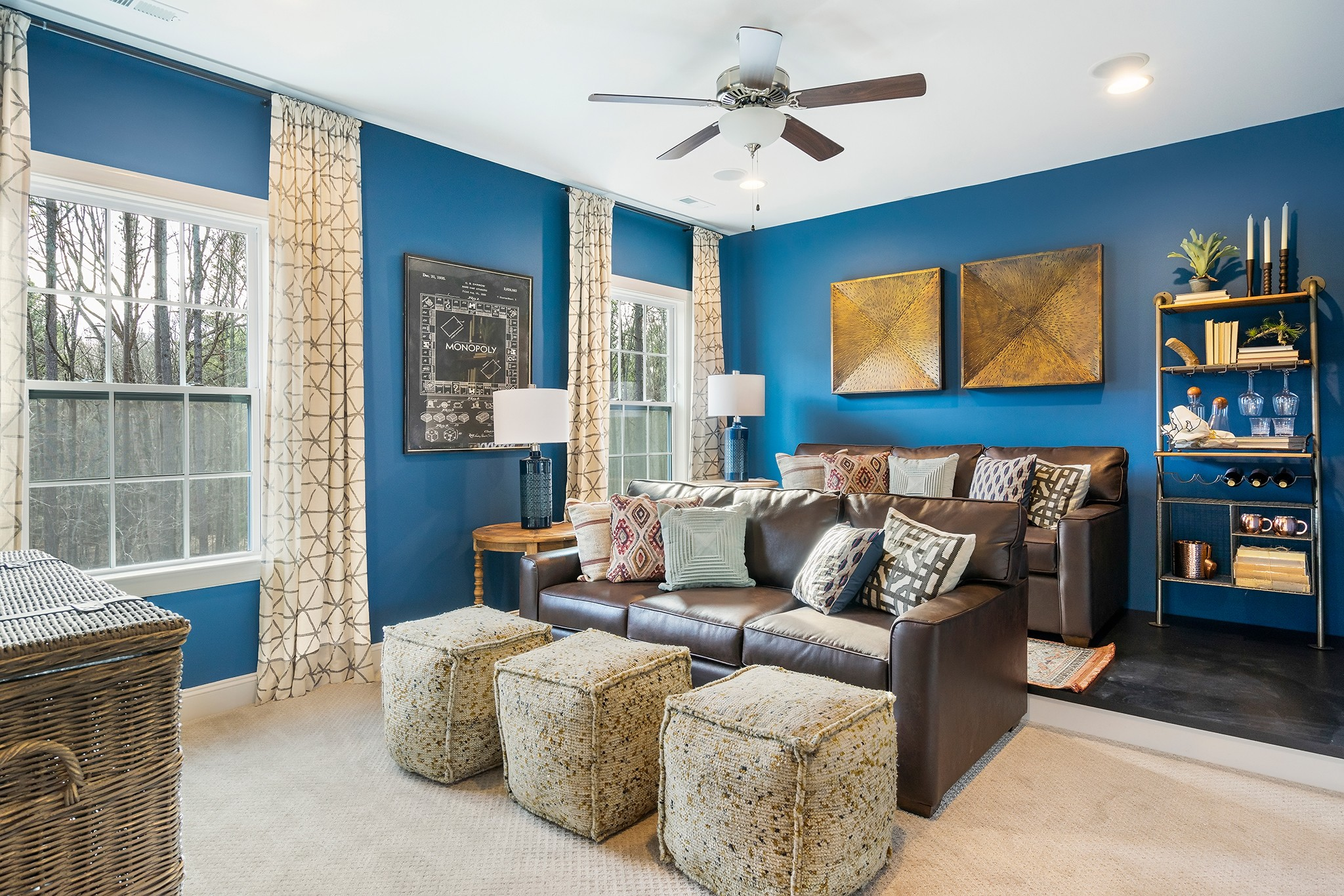 Ballentine Place, The Edenton Model, Royal Oaks a Division of Mattamy Homes, Rec Room