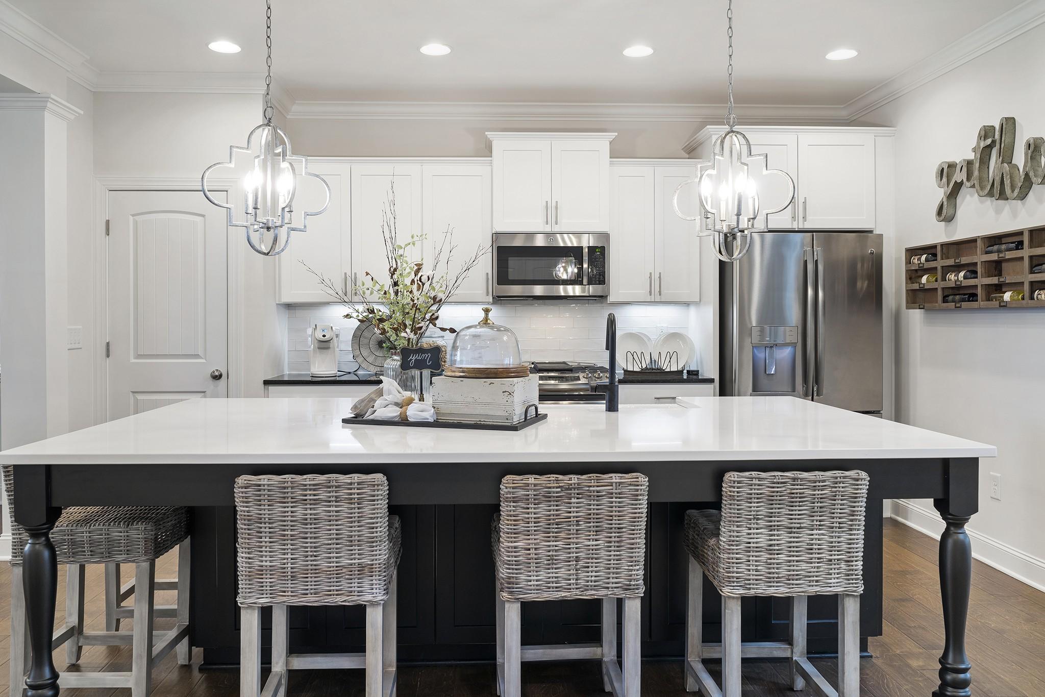 Royal Oaks a Division of Mattamy Homes, Wendell Falls, The Bennett, Open Kitchen