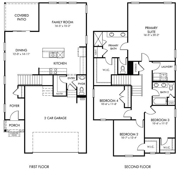 Garrison Floorplan