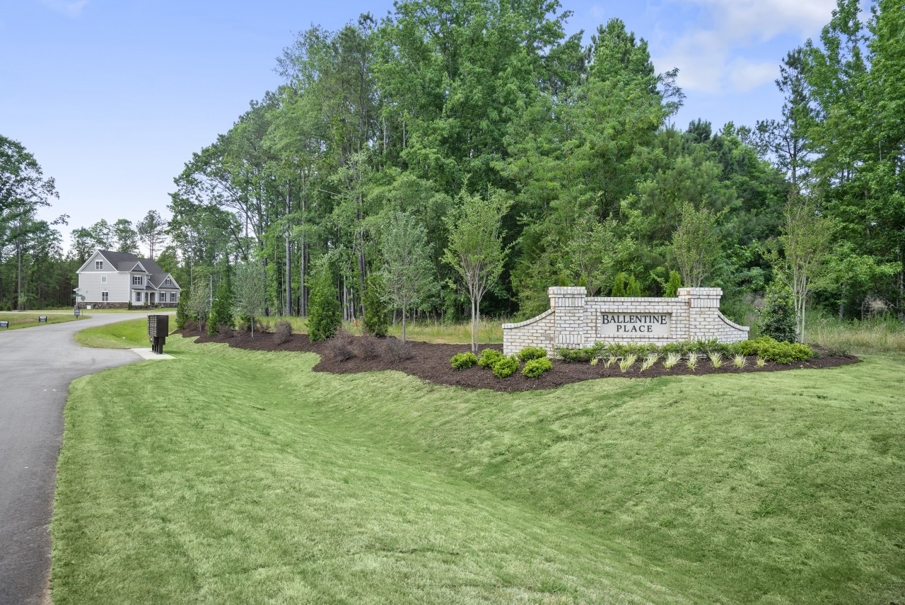 Royal Oaks a Division of Mattamy Homes, Ballentine Place, Holly Springs, North Carolina, Entrance...