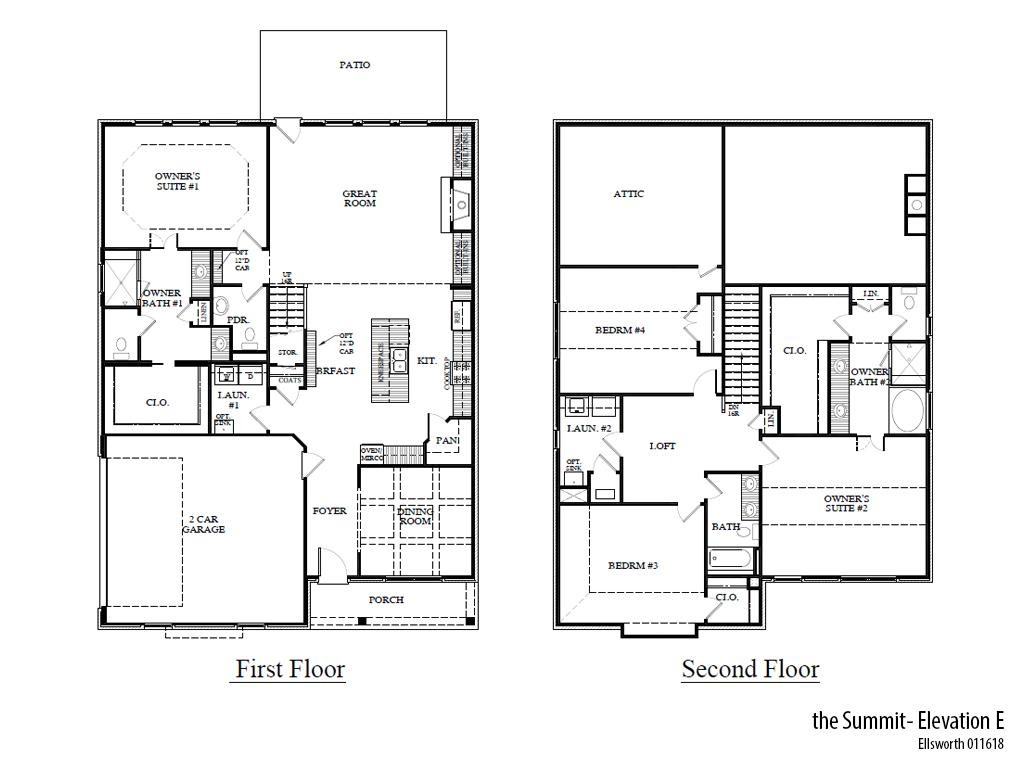 Ellsworth Summite Floorplan