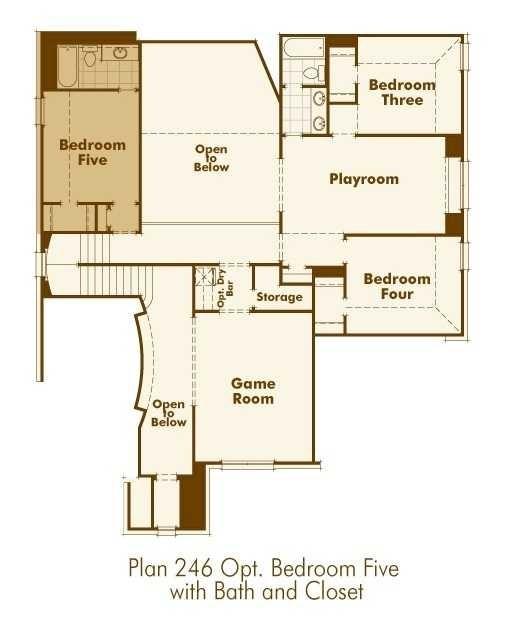 Optional Bedroom 5 w/Bath