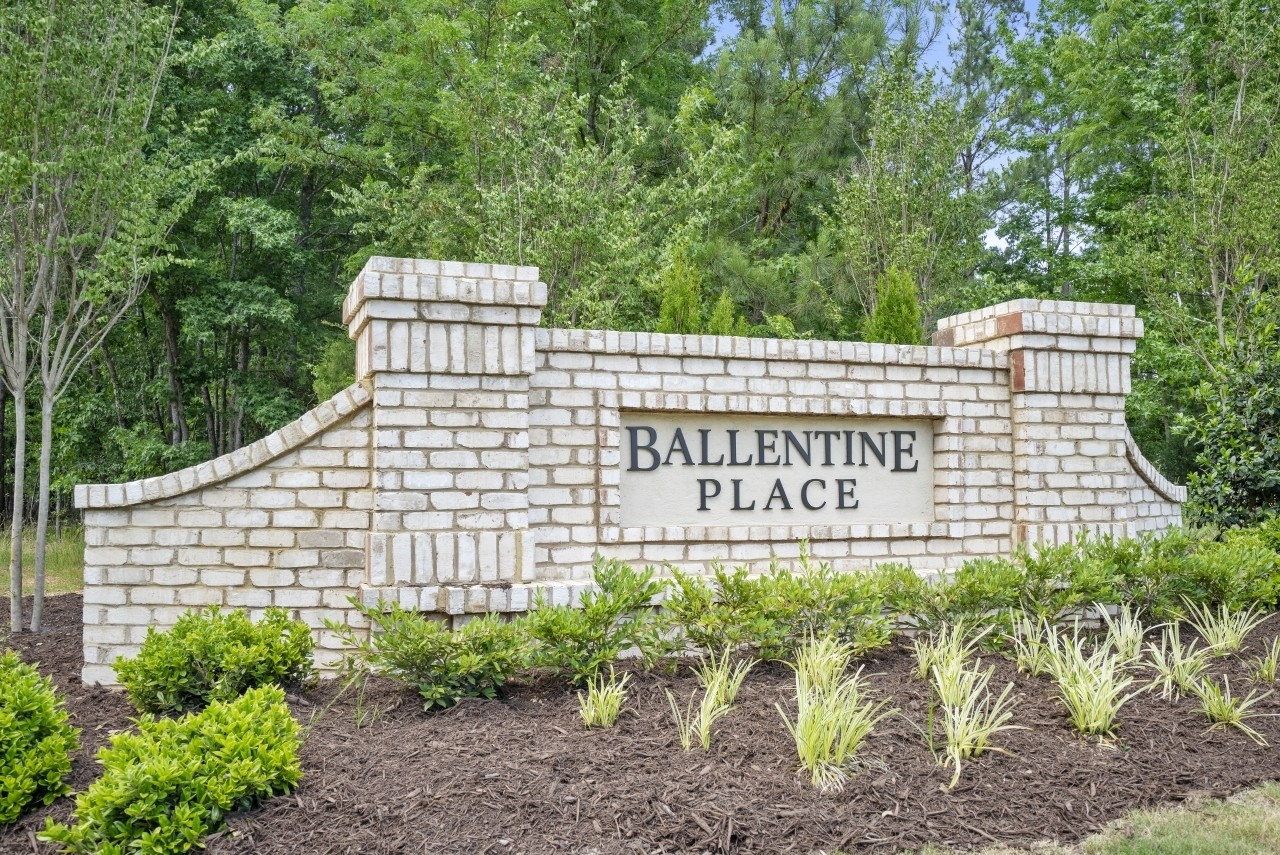 Royal Oaks a Division of Mattamy Homes, Ballentine Place, Entrance Monument, Holly Springs, North...