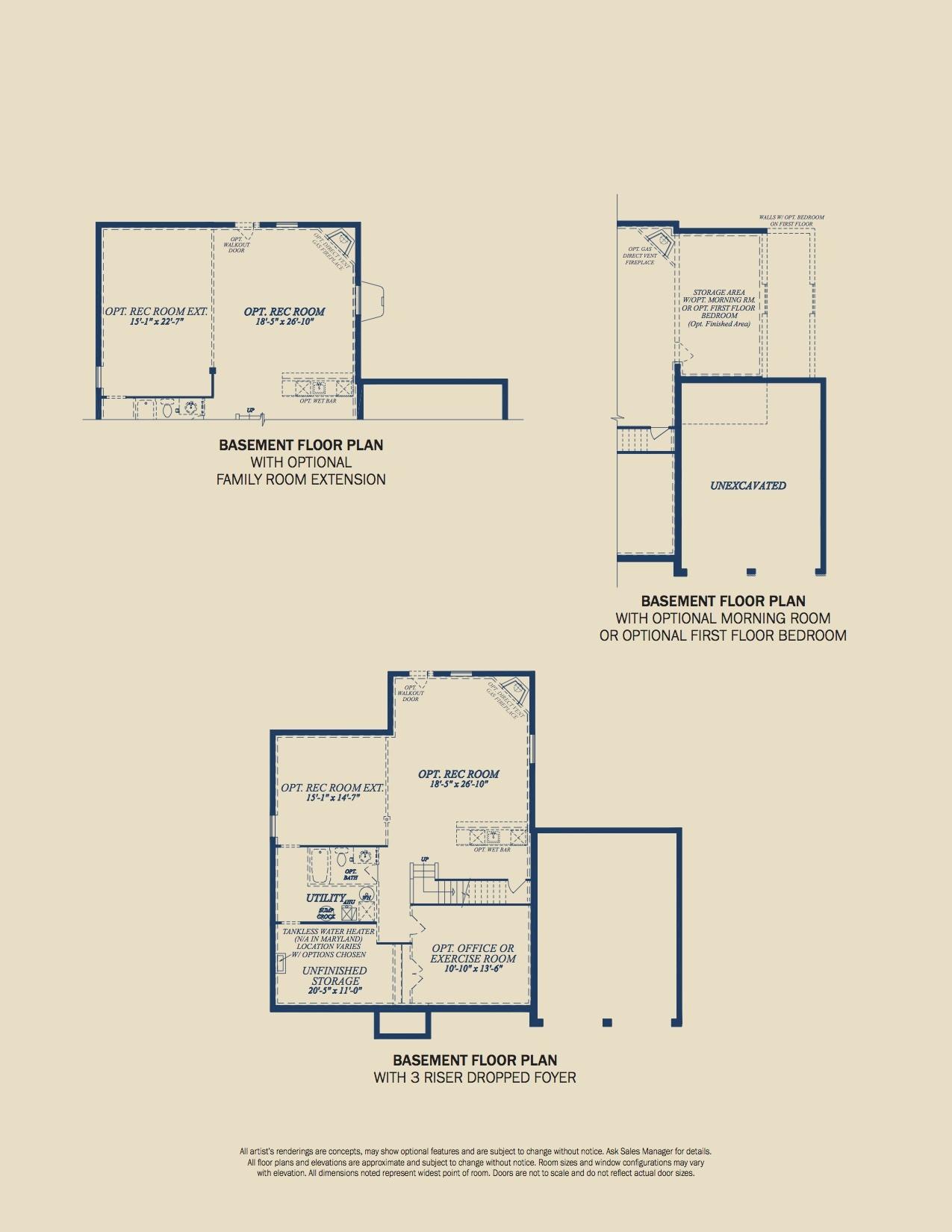 The Hamilton Brochure Page 6 - Floorplans
