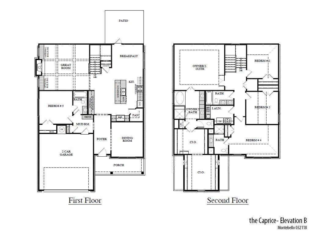Mb Capriceb Floorplan