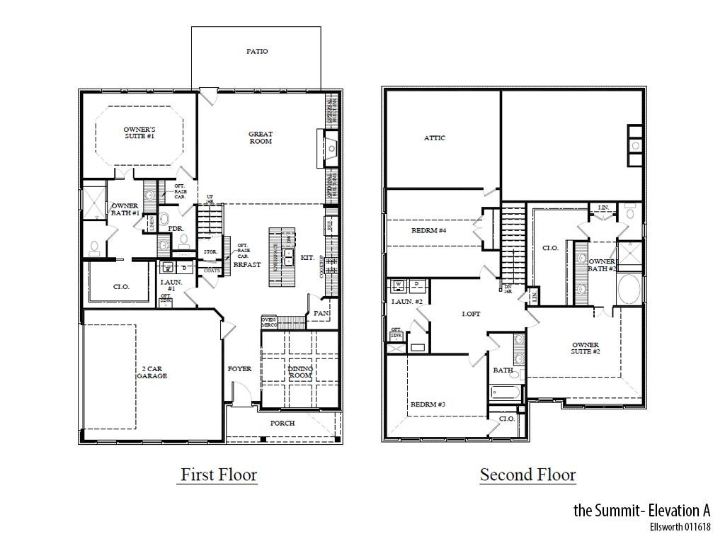 Ellsworth Summita Floorplan
