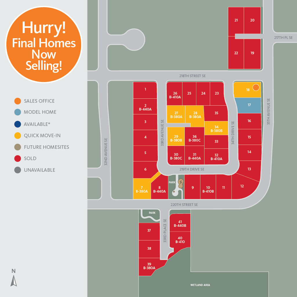 Greenstone Heights Sitemap