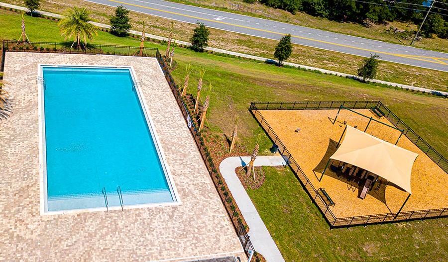 ThePreserveAtSunrise-ORL-Playground and Pool Aerial