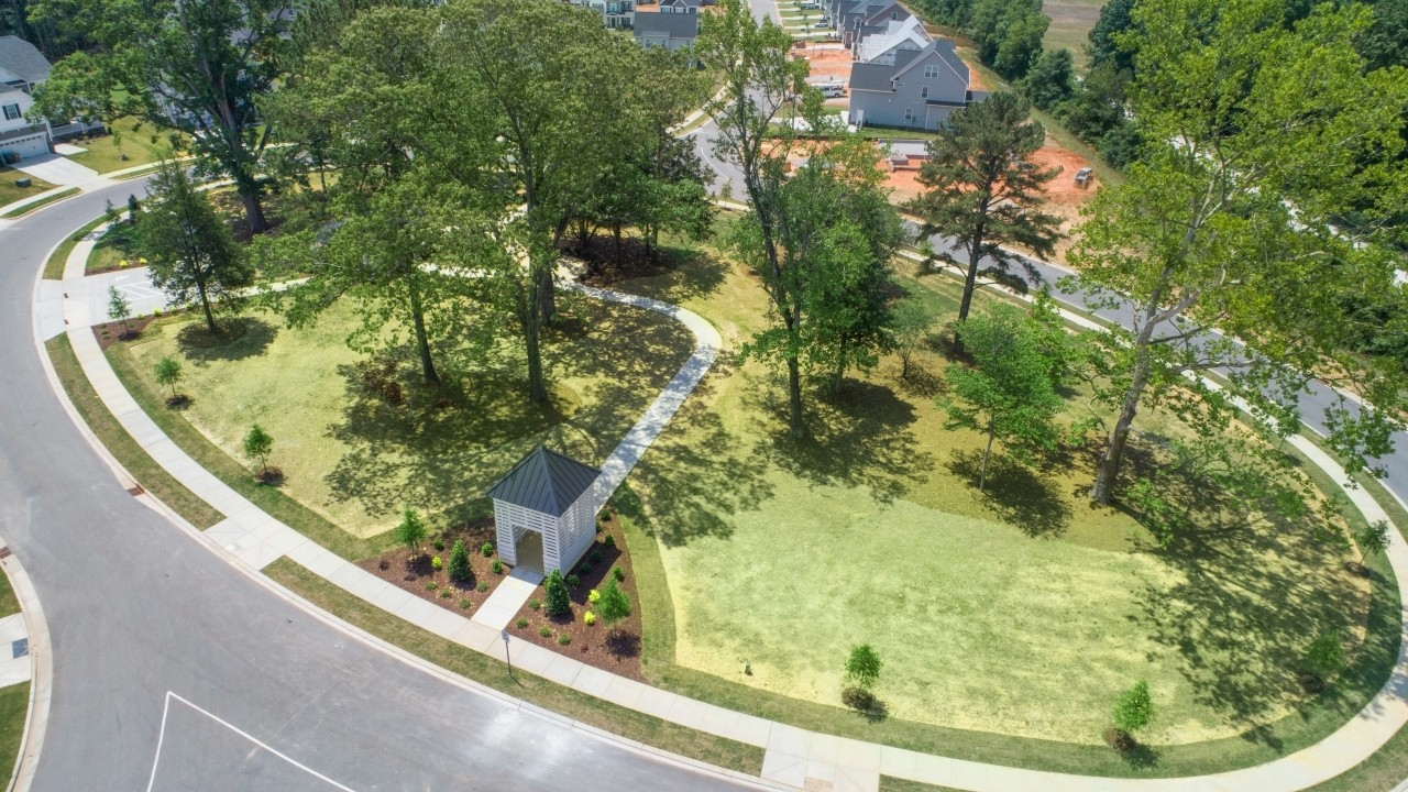 Royal Oaks a Division of Mattamy Homes, Oak Park, Garner, North Carolina, Walking Trail, Gatherin...