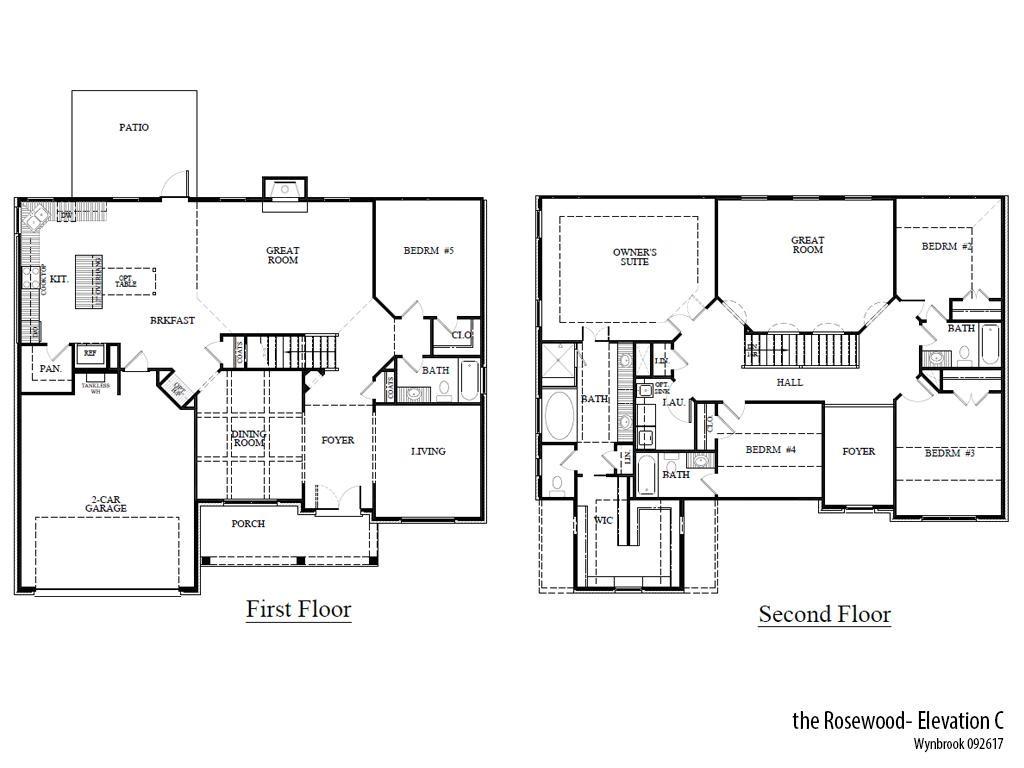 Wyn Rosec Floorplan