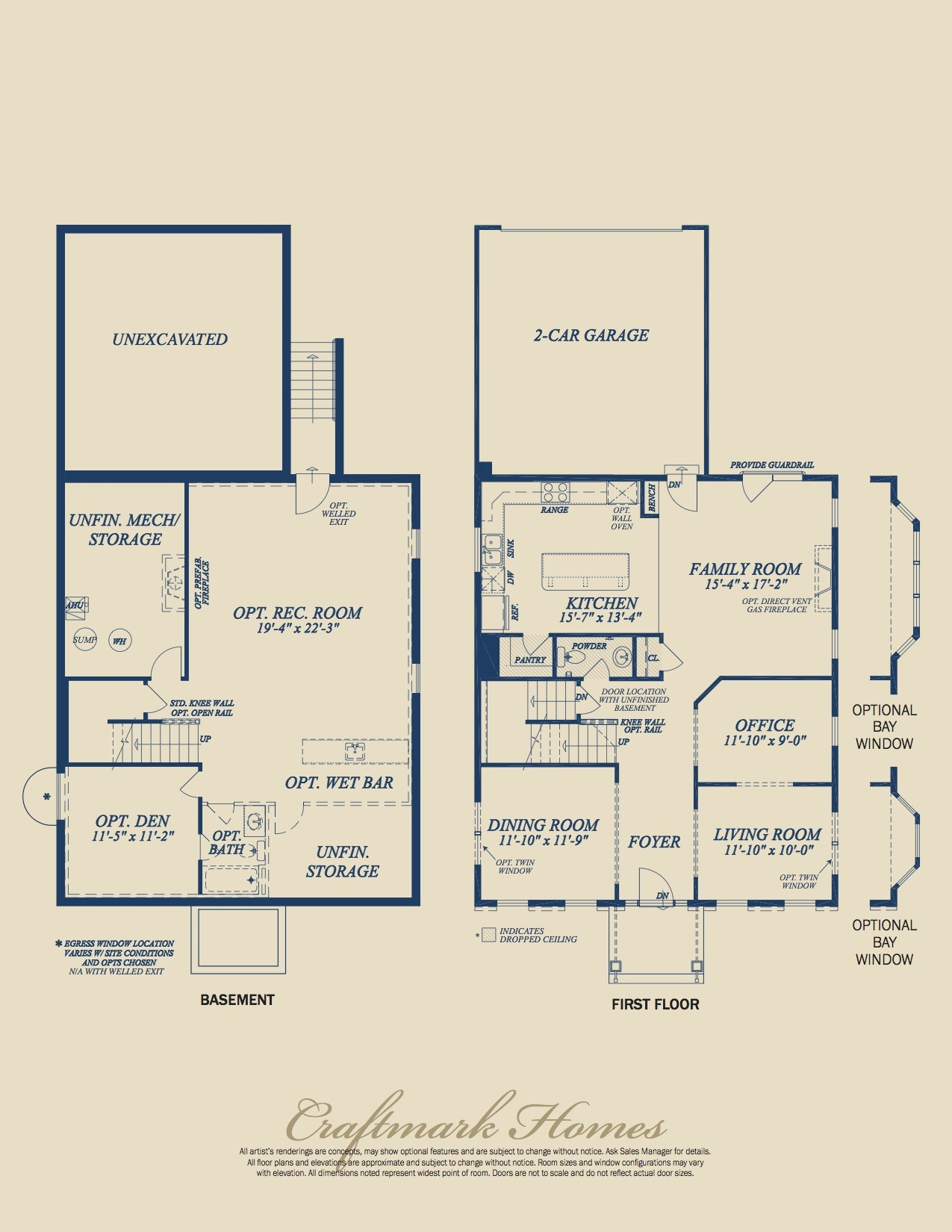 The Middletown by Craftmark Homes