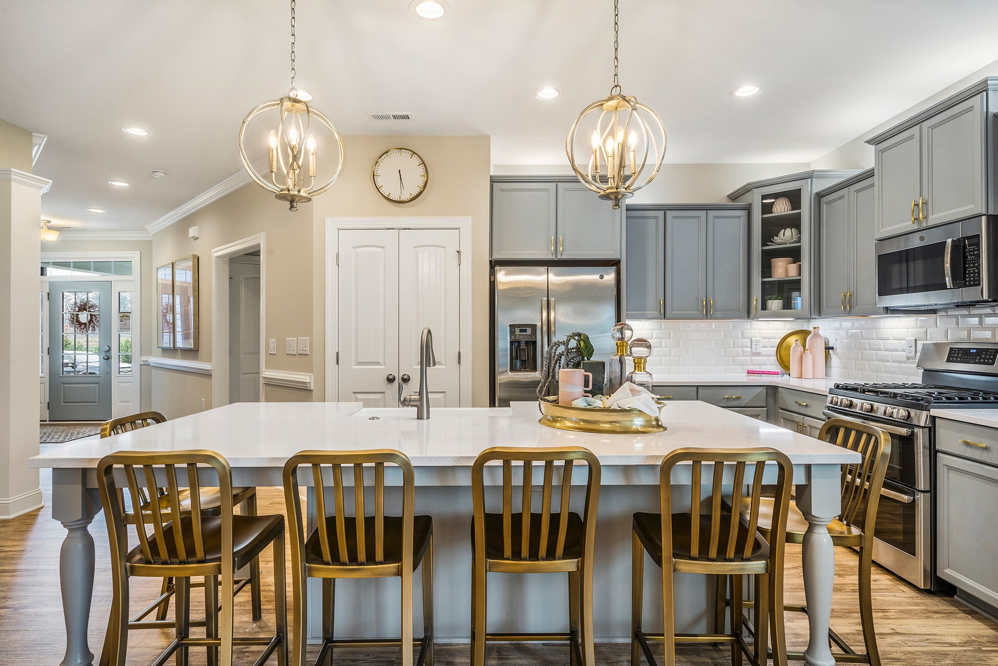 Royal Oaks a Division of Mattamy Homes, Wendell Falls, The Stewart, Open Kitchen