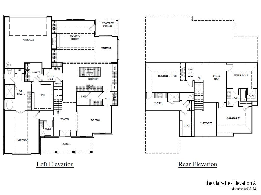 Mb Clairettea Floorplan