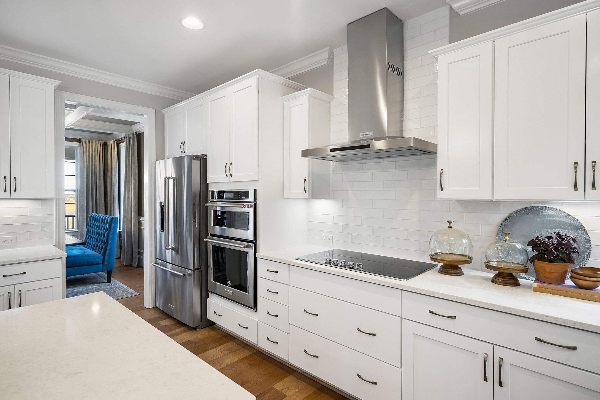 Ballentine Place, The Edenton Model, Royal Oaks a Division of Mattamy Homes, Spacious Open Kitchen
