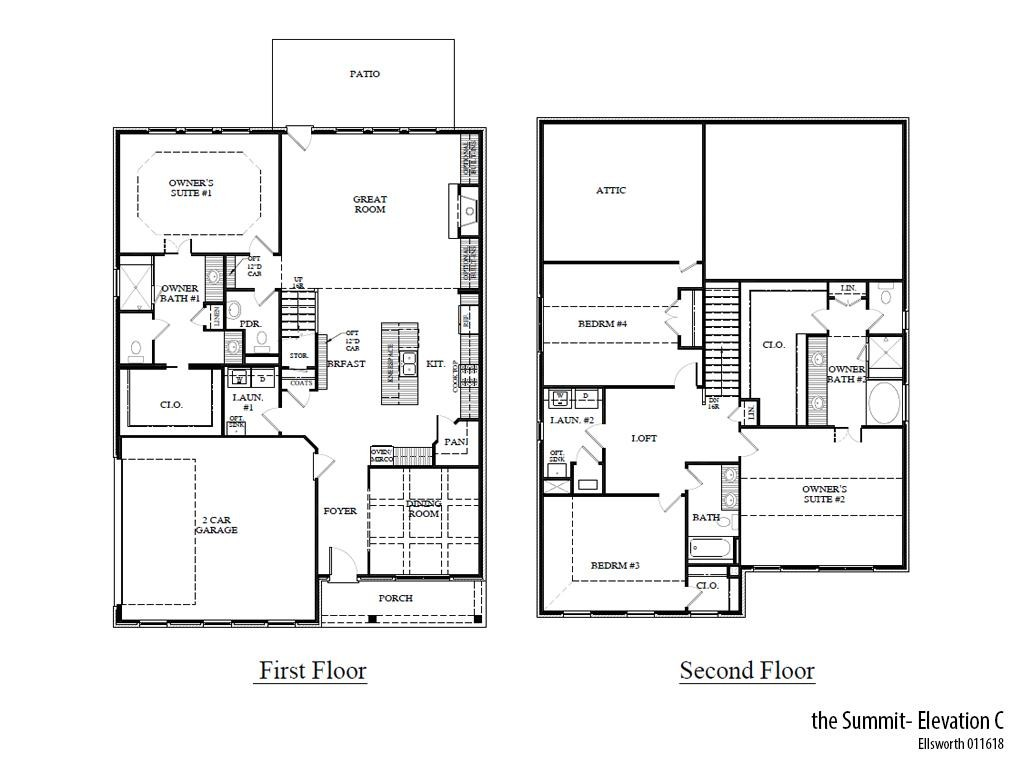 Ellsworth Summitc Floorplan