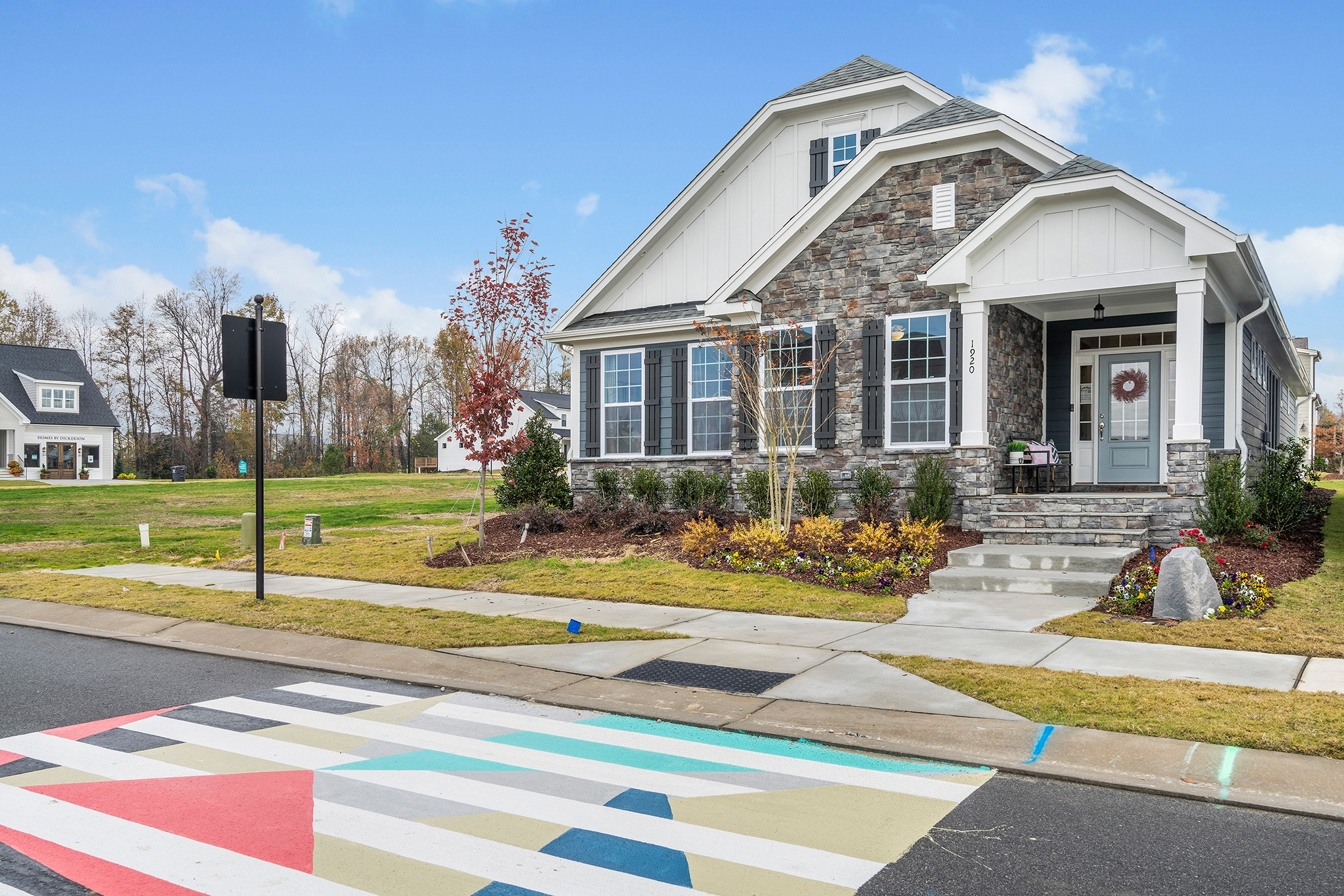 Royal Oaks a Division of Mattamy Homes, Wendell Falls, The Stewart