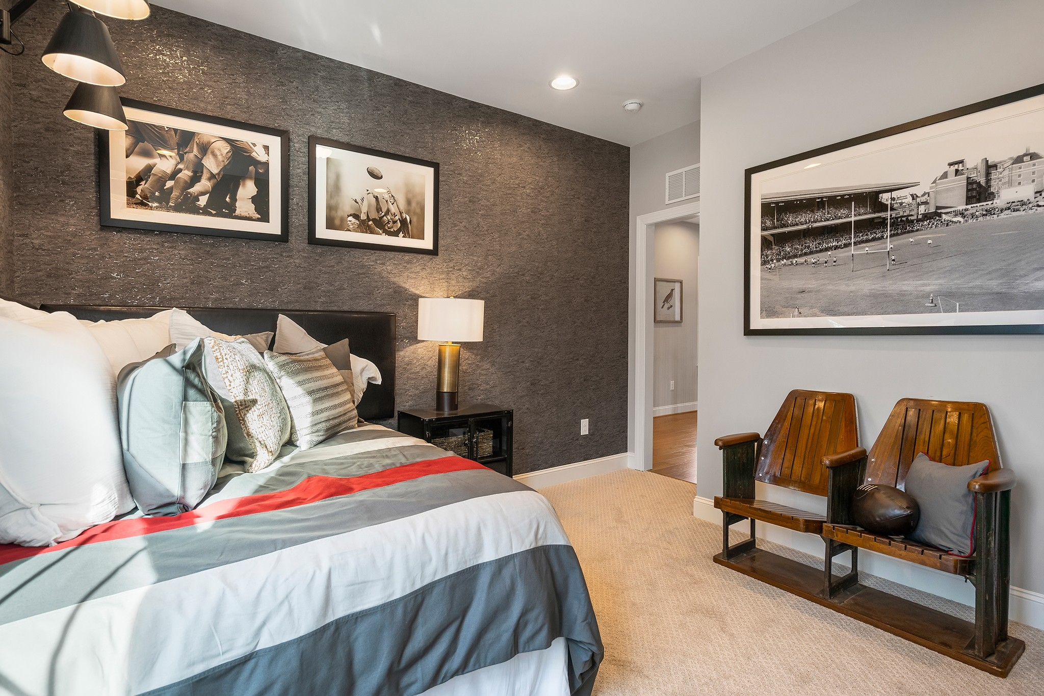 Ballentine Place, The Edenton Model, Royal Oaks a Division of Mattamy Homes, Bedroom