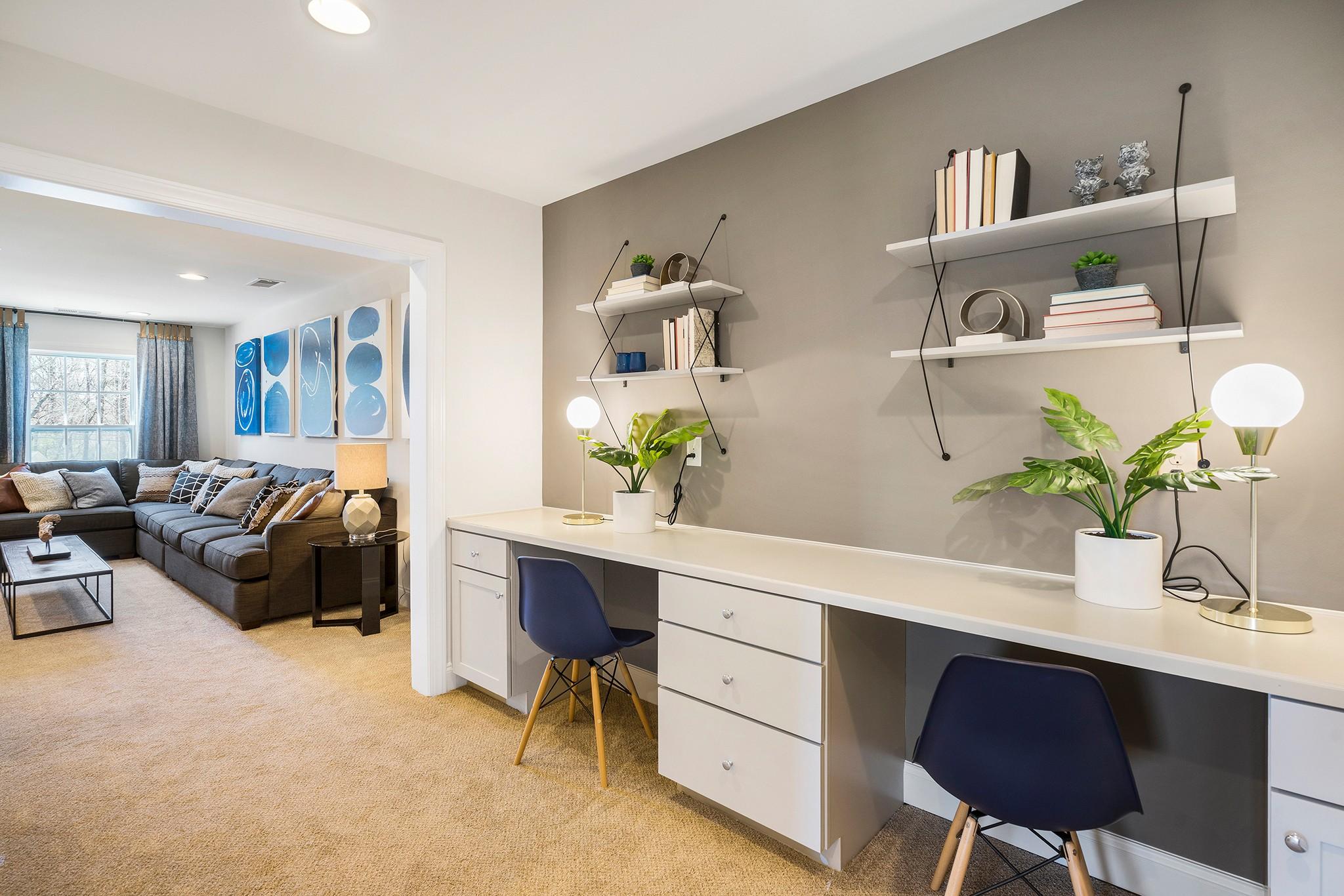 Royal Oaks a Division of Mattamy Homes, Holland Station, Fuquay-Varina, Work Station, Bonus Room,...