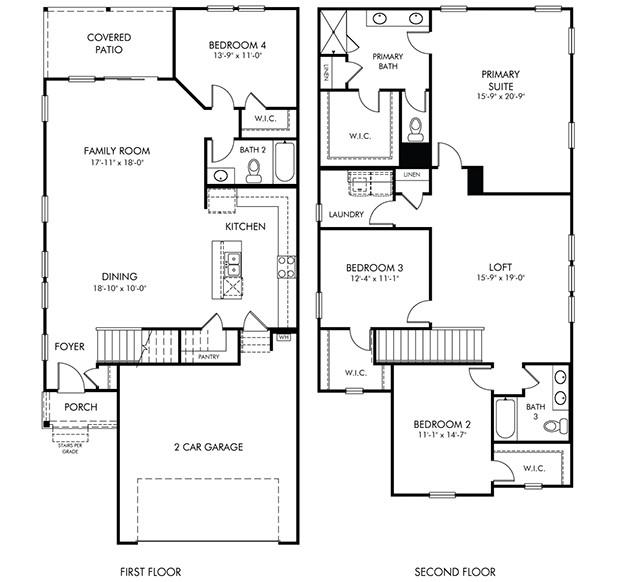 Shiloh Floorplan