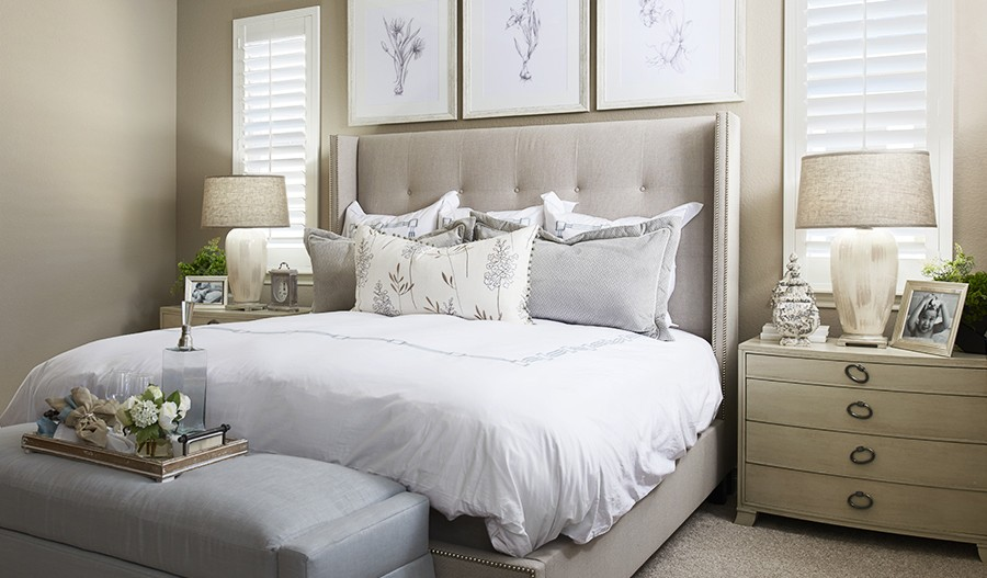 Arlington-DEN-Master bedroom (Cobblestone)